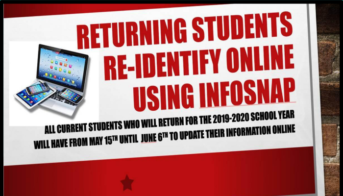InfoSnap Student Registration