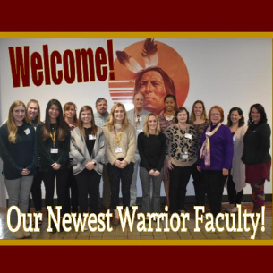 Newest Warrior Faculty Members